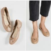 Sam Edelman Carla 女士简约芭蕾舞平底鞋