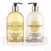 Baylis & Harding 蜜柑&葡萄柚香型 洗手液500ml+护手霜500ml