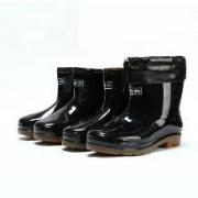 雨天神器:回力 男士短筒雨靴