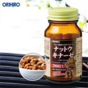 orihiro欧立喜乐 日本纳豆激酶胶囊溶血栓脑梗纳豆菌改善三高