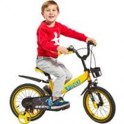 Huizhi 荟智 儿童自行车单车 小孩自行车 HB1401-L651 14寸黄色 *2件