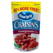 Ocean Spray 优鲜沛 蔓越莓干 红石榴味 170g*10件 到手49元
