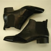 COACH 蔻驰 女士Suffolk真皮及踝短靴