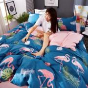 俏精灵 纯棉四件套 床单/被套/枕套 全尺寸均价