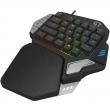 DeLUX 多彩 T9X 单手机械键盘套装开箱及使用
