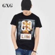 GXG 男子夏季印花T恤