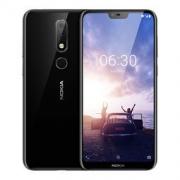 NOKIA 诺基亚 X6 4GB+64GB 星空黑 智能手机1379元包邮(需用券)