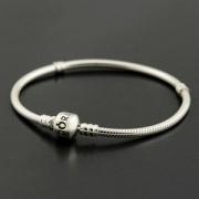Pandora 潘多拉 Silver 蛇链基础手链 925纯银材质¥299