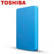 TOSHIBA 东芝 ALUMY 2.5寸2TB移动硬盘开箱
