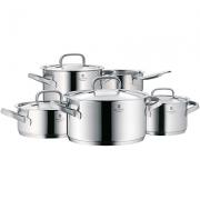 WMF 福腾宝 Gourmet Plus 锅具5件套开箱
