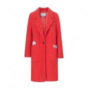 伊芙丽 女士韩版长款羊毛大衣