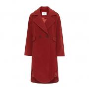 伊芙丽 女士秋冬新款长款毛呢大衣