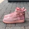 NIKE 耐克 SF AIR FORCE 1 MID 女款机能运动鞋 粉色特价$95,约655元