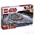 0点开始,LEGO 乐高 Star Wars 星球大战系列 75190 第一秩序歼星舰新低900元包邮包税