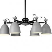 nvc-lighting 雷士照明 马卡龙北欧简约6头吊灯
