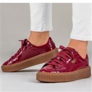 PUMA 彪马 Basket Platform Patent女款休闲鞋