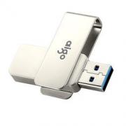 aigo 爱国者 U330 32G USB3.0高速 全金属旋转U盘43.9元