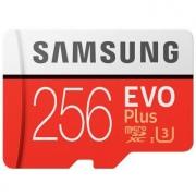 SAMSUNG 三星 红色plus升级版+ 高速TF卡(Micro SD卡) 90MB/秒 256GB