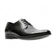 US9码,CLARKS 其乐 Conwell Cap 男士真皮正装鞋 Prime会员免费直邮含税到手296元