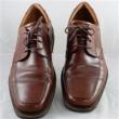 限41码!ECCO爱步Seattle西雅图系列Apron-Toe男士正装皮鞋 红棕色特价$51.96,转运约¥434