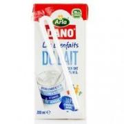Arla Dano 阿拉丹 全脂纯牛奶 200ml*24盒 *4件 +凑单品113.41元含税包邮(213.41-100)