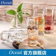 鸥欣 Ocea 进口透明耐热玻璃杯套装 290ml*6只