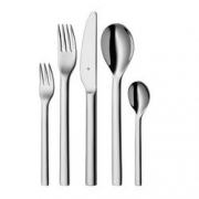 WMF 福腾宝 Corio系列 6人份餐具套装 (共30件) Cromargan 18/10 不锈钢材质¥450
