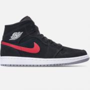 乔丹 Air Jordan 1 Mid 红蓝鸳鸯 男子篮球鞋