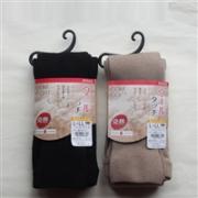ATSUGI厚木 comfort 发热 竖纹 连裤袜 400D 超厚款  两色
