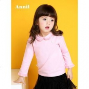 ANNILBABY 安奈儿 童装 女小童T恤59元包邮(需用券)