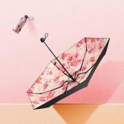BANANA UNDER 蕉下 口袋系列 折叠防紫外线伞 黛粉