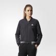 adidas 阿迪达斯 运动型格 女子 夹克 黑 CE2535239元包邮