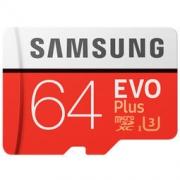 SAMSUNG 三星 EVO+升级版 64GB TF存储卡(读速100MB/s)