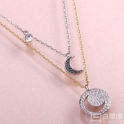 Swarovski 施华洛世奇 Crystal Wishes Moon 月亮二合一项链套装 2件 ¥850.8包邮425.4元/件