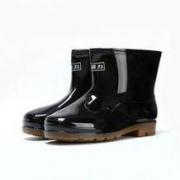 回力 男士短筒雨靴