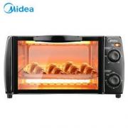 Midea 美的 T1-108B 电烤箱 10L