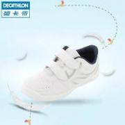 DECATHLON 迪卡侬 ARTENGO 儿童小白运动鞋 可爱粉白