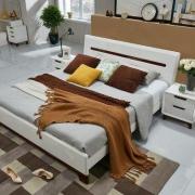 QuanU 全友 121802 卧室成套家具 1.8米床+床头柜*2+床垫2379元包邮(前20名)