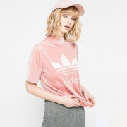 adidas 阿迪达斯 CW0279 女款运动T恤145元包邮