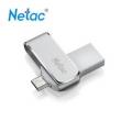 Netac 朗科 U380 32G 金属手机闪存盘48.9元