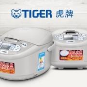 TIGER 虎牌 JAX-C10C 微电脑电饭煲3L