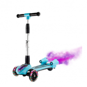 Warmest 致暖 儿童音乐蓝牙喷雾滑板车 蓝色