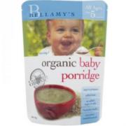 Bellamy's 贝拉米 有机婴幼儿麦片粥 125g