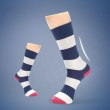 Corgi英国进口薄款条纹棉袜
