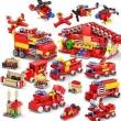 KAZI 开智 城市消防救援队 414颗粒32元包邮