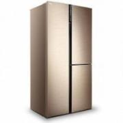 TCL 502升 双变频T型对开三门冰箱 BCD-502WE3999元包邮