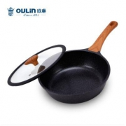 OULIN 欧琳 SRL-J24 麦饭石不粘煎炒锅 24cm