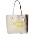 再降价:COACH 蔻驰 Keith Haring Hudson 女士真皮托特包165.99美元约¥1140