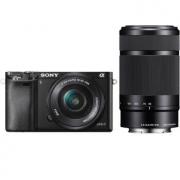 SONY 索尼 ILCE-6000L APS-C双镜头无反套机(16-50mm + 55-210mm)4498元包邮