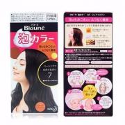 销量第一,KAO 花王 Blaune泡沫染发剂 皇家高贵棕 108ml*2盒*3 ¥197包邮32.8元/盒(双重优惠)